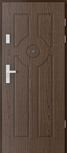 Uşi intrare apartament  FREZATE model 6