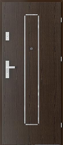 Uşi intrare apartament  OFFICE model 7 cu insertii