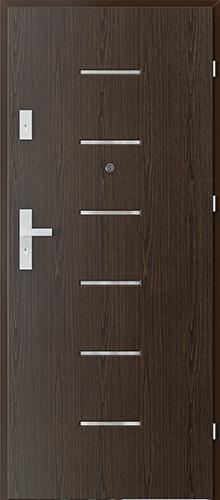 Uşi intrare apartament  OFFICE model 8 cu insertii