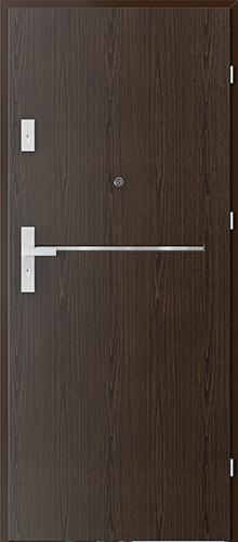Uşi intrare apartament  OFFICE model 6 cu insertii