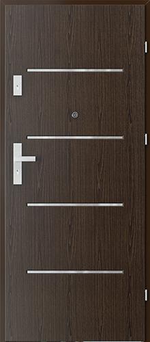 Uşi intrare apartament  OFFICE model 9 cu insertii