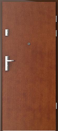 Uşi intrare apartament  Plina striatii verticale