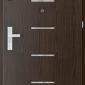 Uşi tehnice şi metalice OFFICE model 8 cu insertii