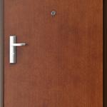 Uşi tehnice şi metalice Plina striatii verticale