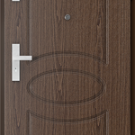 Uşi tehnice şi metalice FREZATE model 8