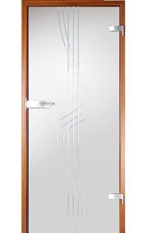 Uşi de sticlă Model SM16