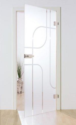 Uşi de sticlă Model SM21