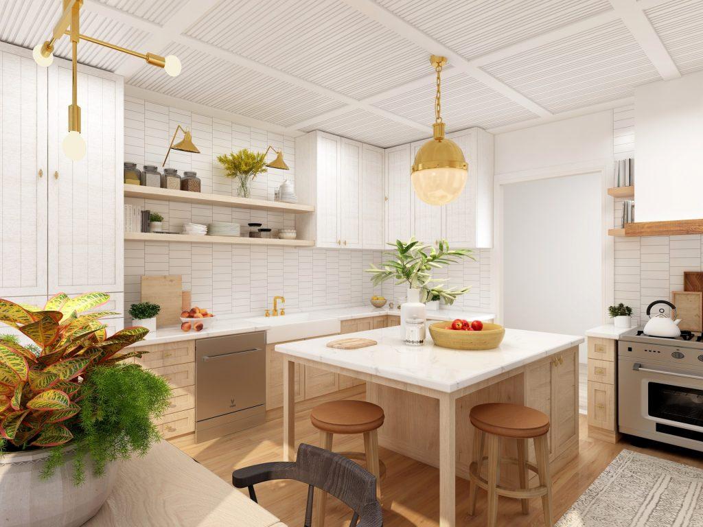 cum amenajezi bucătăria scandinavă
