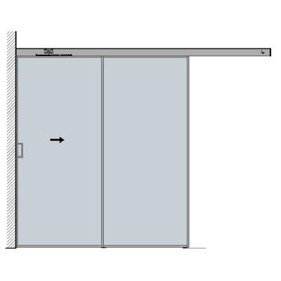 sisteme culisare rom decor v2000 compartimentari sticla